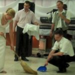 Hungarian Wedding Sweeping Ceremony