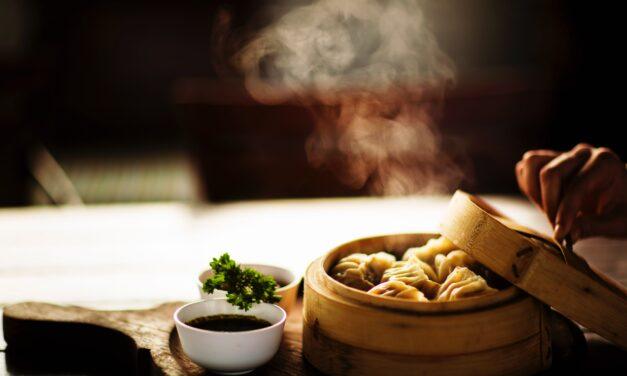 Mushroom-Shallot Thai Dumplings (with dipping sauce)